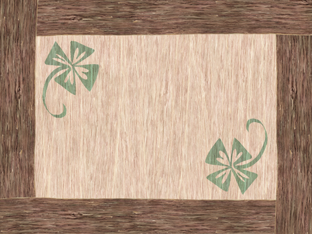 Wooden board (four leaves)