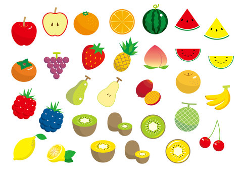 Fruit material set