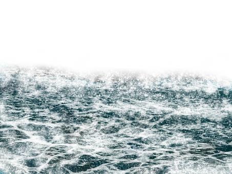 Desolated sea