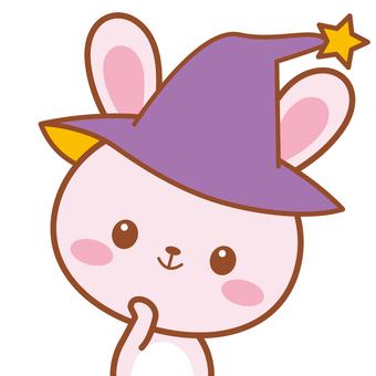 Witch child childhood rabbit