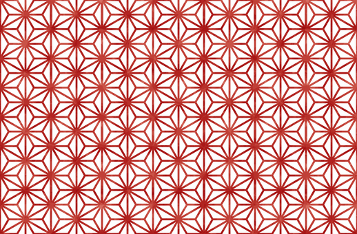 Japanese pattern background / hemp leaf