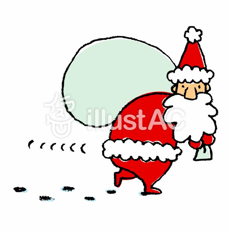 サンタさんのイラスト簡単