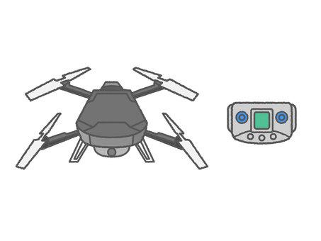 Illustration of drone