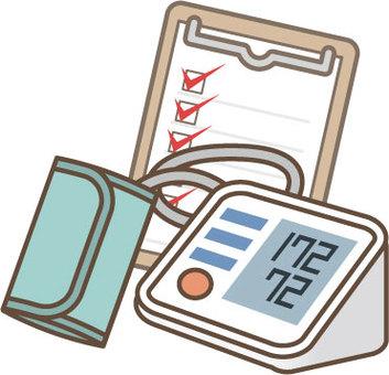 Blood pressure gauge illustration 2