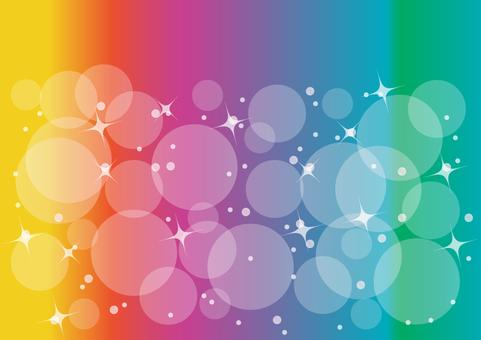 Iridescent sparkling background