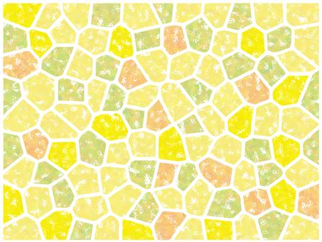 Mosaic tile (yellow)