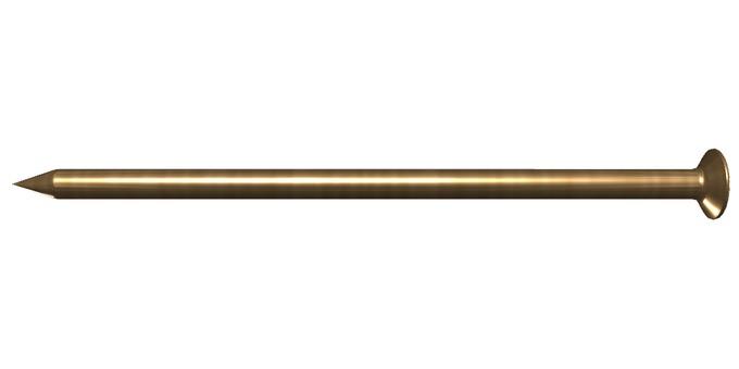 Iron-shaped nail