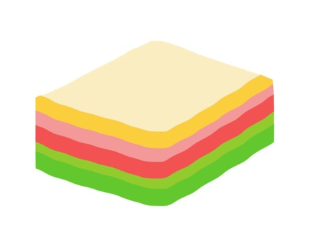 A rice cake