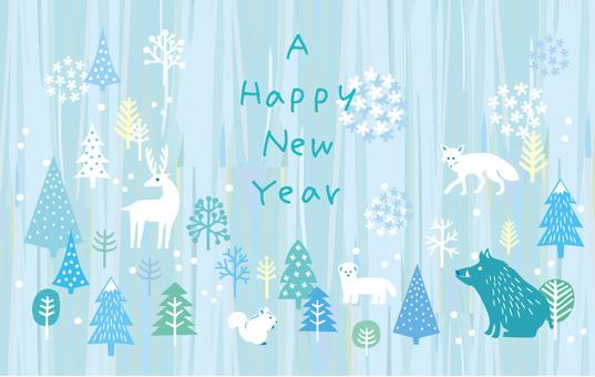 New Year card _ Yago 14