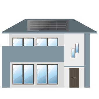 Detached house 29 solar power
