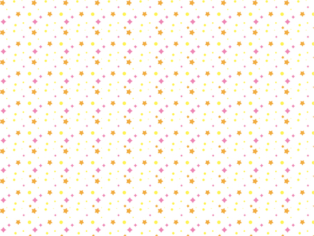 Star pattern material 2