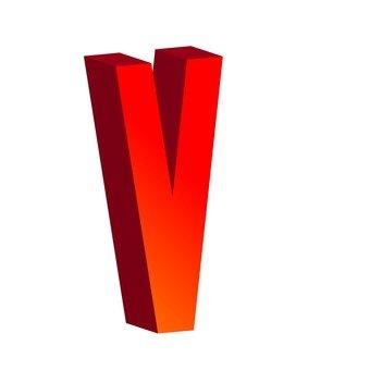 Three-dimensional text V