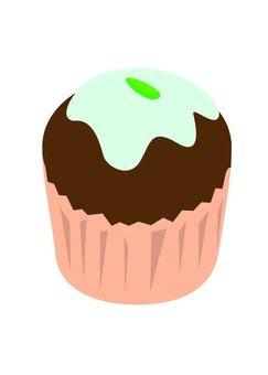 杯形蛋糕(巧克力)