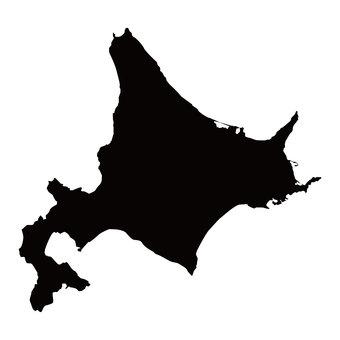 Hokkaido silhouette