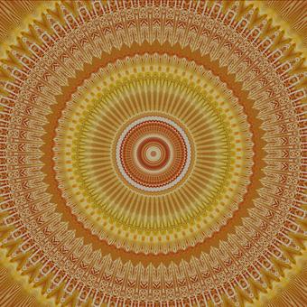 Kaleidoscope handle of the sun image