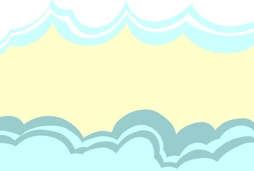 Sea and sky frame