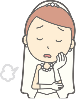 Bride dress - sighs - bust