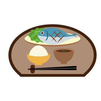Fish set meal