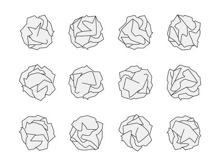 紙くず 12種類セット