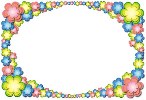 POP still flower frame