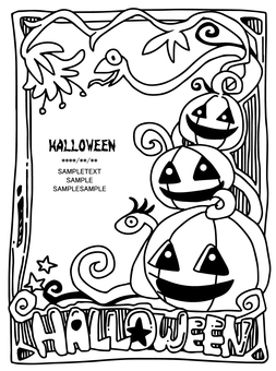 Halloween (coloring)