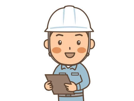 Construction industry site management upper body