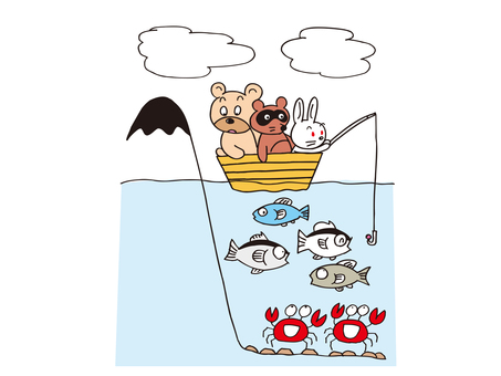Fishing animals