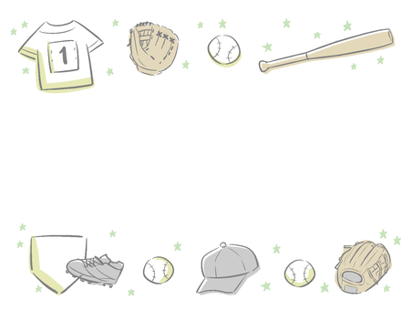 Baseball message card