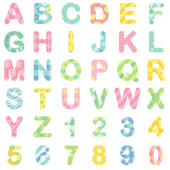 알파벳 패턴