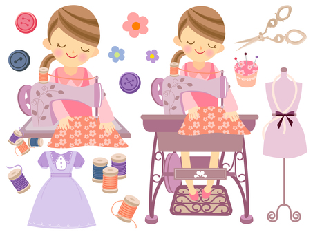 Sewing and ladies