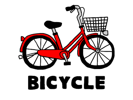 Red bicycle (simple)