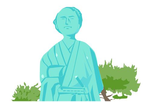 Sakamoto Ryoma (upper body)