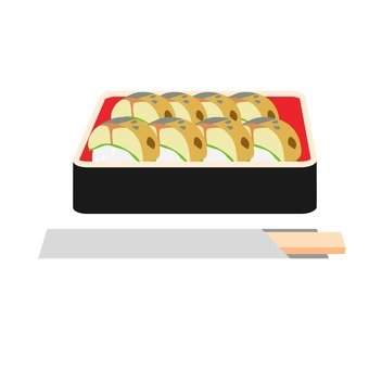 Mackerel sushi 3