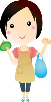 Shopping housewife