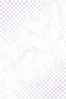 Japanese paper vanilla checkered postcard size