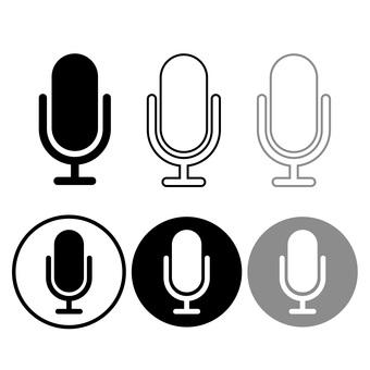 Microphone mark