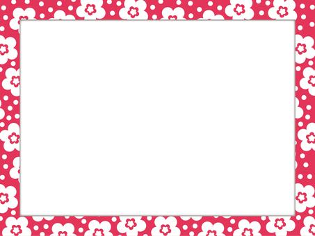 Japanese style pattern frame 01