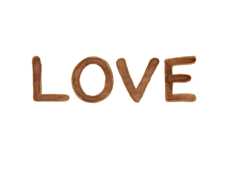 """Coffee letter """"LOVE"""" 3"""