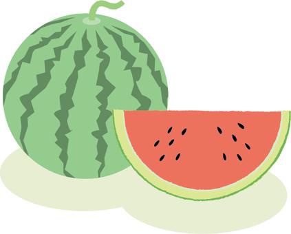 수박 여름 과일