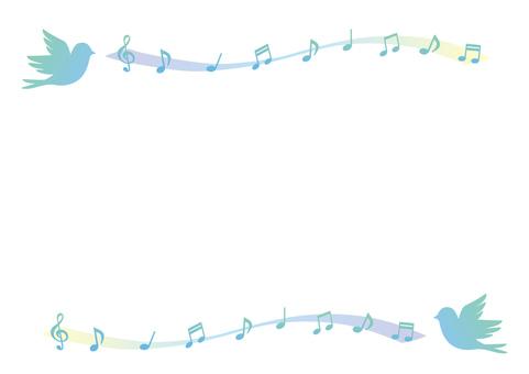 Tweet Bird Frame (Blue)
