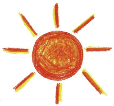 太陽 クレヨン