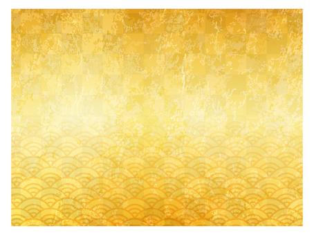 Golden screen storm