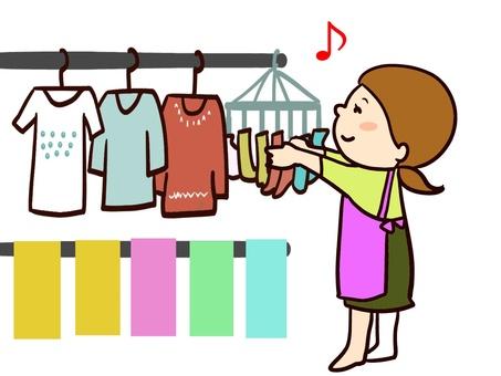 chacha laundry drying