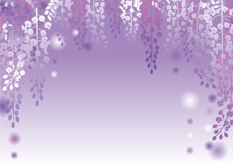 Wisteria trellis background _ purple