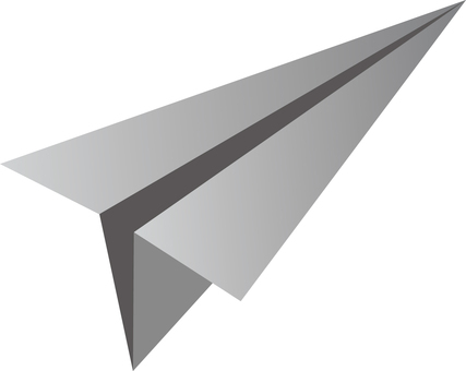 Simple paper airplane