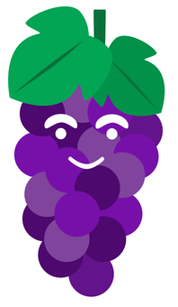 Grapes with a smile