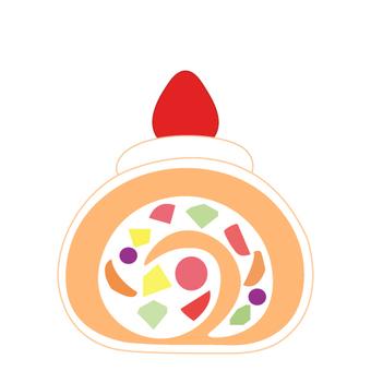 Fruit roll cake 3