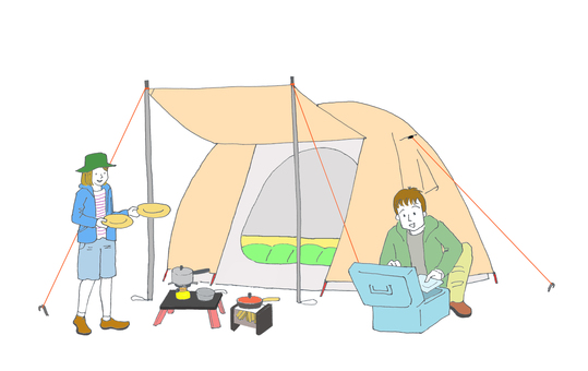 캠프 남녀