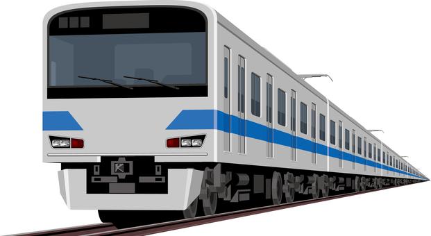Seven trains