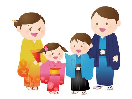 Kimono ailesi 2